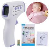 Termometru Medical Copii Infrarosu IR Non-Contact tip Pistol cu Baterii Incluse