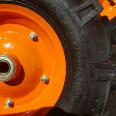 Roti cauciucuri motocultor 400/8 roaba cu ax de 20 mm