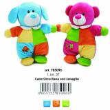 Jucarie Plus Venturelli - Lelly Baby Caine Si Urs Cu Sunete