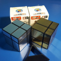 Cub Rubik 2x2x2 ShengShou Mirror Magic Cube 57mm - Jocuri Logica si inteligenta