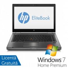 Laptop HP EliteBook 8470P, Intel Core i5-3230M 2.60GHz, 4GB DDR3, 320GB SATA, DVD-RW + Windows 7 Home Premium