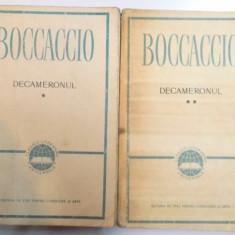DECAMERONUL de BOCCACCIO, 1957 - Carte in alte limbi straine