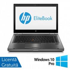Hp EliteBook 8470p, Intel Core i5-3210M Gen. 3, 2.5GHz, 4Gb DDR3. 320Gb SATA II, DVD-RW, 14 inch LED-Backlit HD + Windows 10 Pro - Laptop Dell