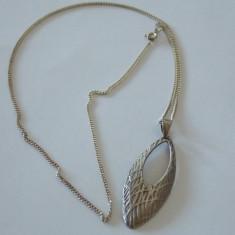 Lantisor cu padant argint vintage -1651 - Lantisor argint