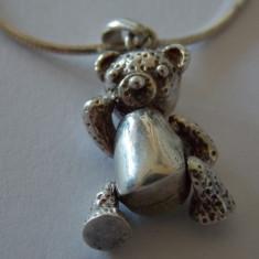Lantisor argint cu pandant