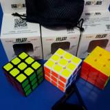 Cub Rubik 3x3x3 MoFangGe QiYi Thunderclap V1 Profesional 56mm