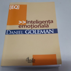 Daniel Goleman - Inteligenta emotionala - Carte dezvoltare personala