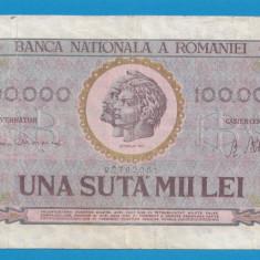 100000 lei 1947 12 - Bancnota romaneasca
