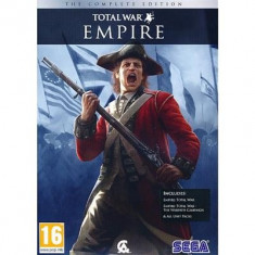 Empire Total War Complete Edition Pc - Jocuri PC Sega, Strategie, 16+