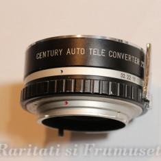 CENTURY AUTO TELE CONVERTER 2X FOR MINOLTA - Teleconvertor Obiectiv Foto