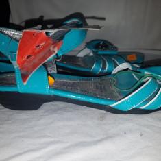 Sandale copii, Marime: 36, Culoare: Verde, Fete