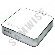 Rack extern Tech Solo White USB 2.0, TMR-650S, Pentru Hard Disk de 3.5