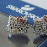 Cercei Swarovski Hello Kitty