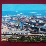 carte postala - Constanta / Vedere din port  - circulata 1979 !!!