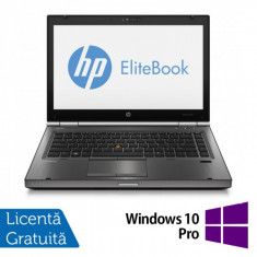Laptop HP EliteBook 8470P, Intel Core i5-3230M 2.60GHz, 4GB DDR3, 320GB SATA, DVD-RW + Windows 10 Pro