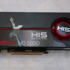 Placa video HIS Radeon HD5850 1GB DDR5 256-bit - Placa video PC