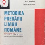 METODICA PREDARII LIMBII ROMANE PENTRU CLASELE I-IV - Morarescu - Culegere Romana