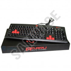 **NOU**Tastatura Gaming Tt eSPORTS Thermaltake Amaru, Wired, USB....GARANTIE!, Cu fir