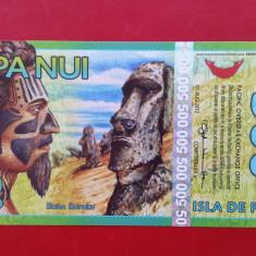 BANCNOTA INSULA PASTELUI ( Easter Island ) - 500 rongo 2012 - A34460 - UNC