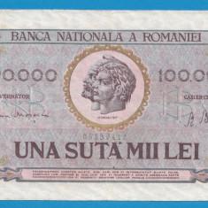 100000 lei 1947 7 - Bancnota romaneasca