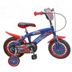 Bicicleta 12'' Spiderman - Bicicleta copii Toimsa