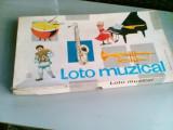 bnk jc Joc Loto muzical - complet - stare buna