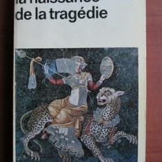 Nietzsche - La naissance de la tragedie - Carte Filosofie