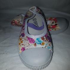 Pantofi copii, Culoare: Alb, Marime: 19, 20, 21, 22, 23, 24, Fete
