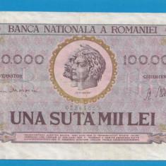 100000 lei 1947 1 - Bancnota romaneasca
