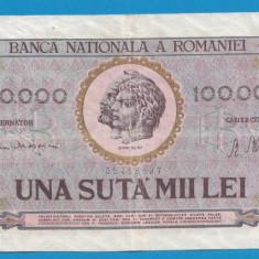 100000 lei 1947 4 - Bancnota romaneasca