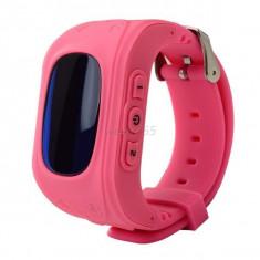 Ceas cu gps smart watch pentru copii Q50, Alte materiale, Android Wear, Apple Watch