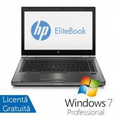 Laptop HP EliteBook 8470P, Intel Core i5-3230M 2.60GHz, 4GB DDR3, 320GB SATA, DVD-RW + Windows 7 Professional