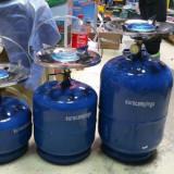 Butelie camping voiaj cu arzător 5 litri Noua - Aragaz/Arzator camping
