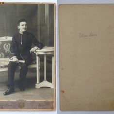Foto pe carton , Galati , sfarsit de secol 19