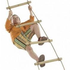 Scara Franghie, Wooden Rungs Rope Ladder - Pp 10 - 2, 40M - 5 Trepte Kbt