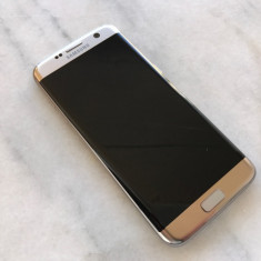Samsung G935F S7 Edge 32GB Gold IMPECABIL, ca NOU, necodat - 1749 RON ! Okazie ! - Telefon Samsung, Auriu, Neblocat, Single SIM