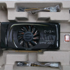 EVGA GTX460 1gb ddr5/256bits Gaming - Placa video PC