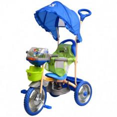 Tricicleta Merry Ride Albastru - Tricicleta copii DHS Baby