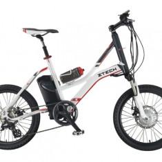 Bicicleta electrica cu cadru Aluminiu ZT-72 CITYLINK SPORT, 26 inch, 20 inch, Numar viteze: 8