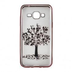 Husa Bright Samsung Galaxy J3/2016 #004 - Husa Telefon Atlas, Transparent, Plastic