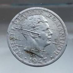 5 lei 1947 surplus de material eroare de batere monede bani vechi numismatica - Moneda Romania