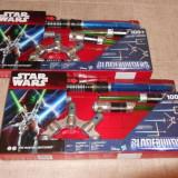 Vand Sabie de jucarie Hasbro Star Wars Jedi Master 2 buc noi cadou - Pistol de jucarie
