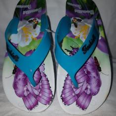 Papuci dama, Culoare: Alb, Marime: 36, 39