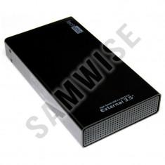 Rack extern Tech Solo Black USB 2.0, TMR-750PSPentru Hard Disk de 3.5