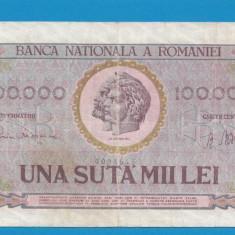 100000 lei 1947 11 - Bancnota romaneasca
