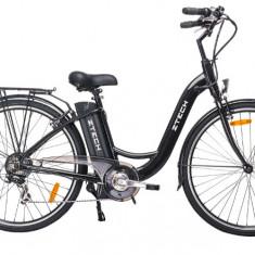 Bicicleta electrica clasica cadru Aluminiu baterie Litium-Ion ZT-13 RETRO 2.0, 22 inch, 27.5 inch, Numar viteze: 3
