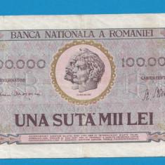 100000 lei 1947 6 - Bancnota romaneasca