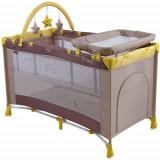 Patut Pliant Penny 2 Plus 2017 Beige Yellow - Patut pliant bebelusi