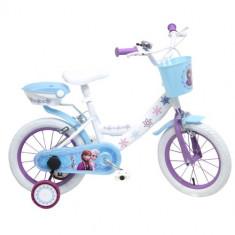 Bicicleta Frozen 14 inch - Bicicleta copii