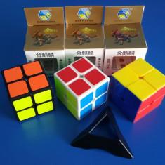 Cub Rubik 2x2x2 Yuxin GoldenUnicorn 50mm Profesional - Jocuri Logica si inteligenta